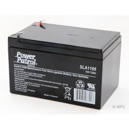 Sealed AGM Battery - 12 volt, 12 amp
