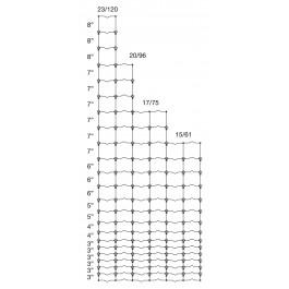 """75"""" High, 17-75-6, Class 3, 330' Roll"""