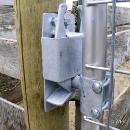 """HD Galvanized Two-Way Slam Latch for 1¾"""" tube"""
