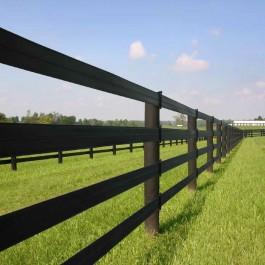 "660' Centaur® HTP® 5"" Rail, Black (Polymer Coated Wire)"