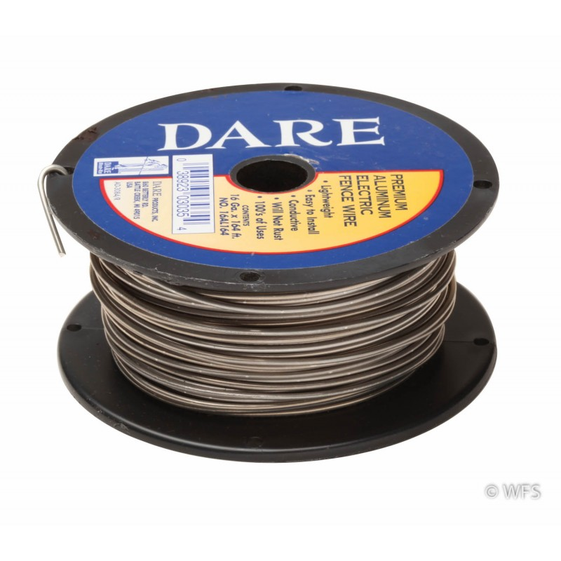 Aluminum 16g Fence Wire, 164'