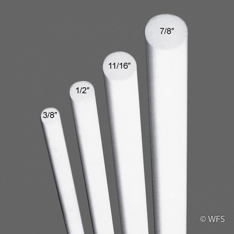 """Fiberglass Rod, ½"""" x 6'"""