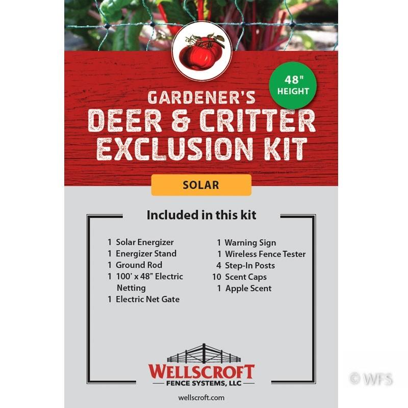 Gardener's Deer & Critter Exclusion Solar Kit
