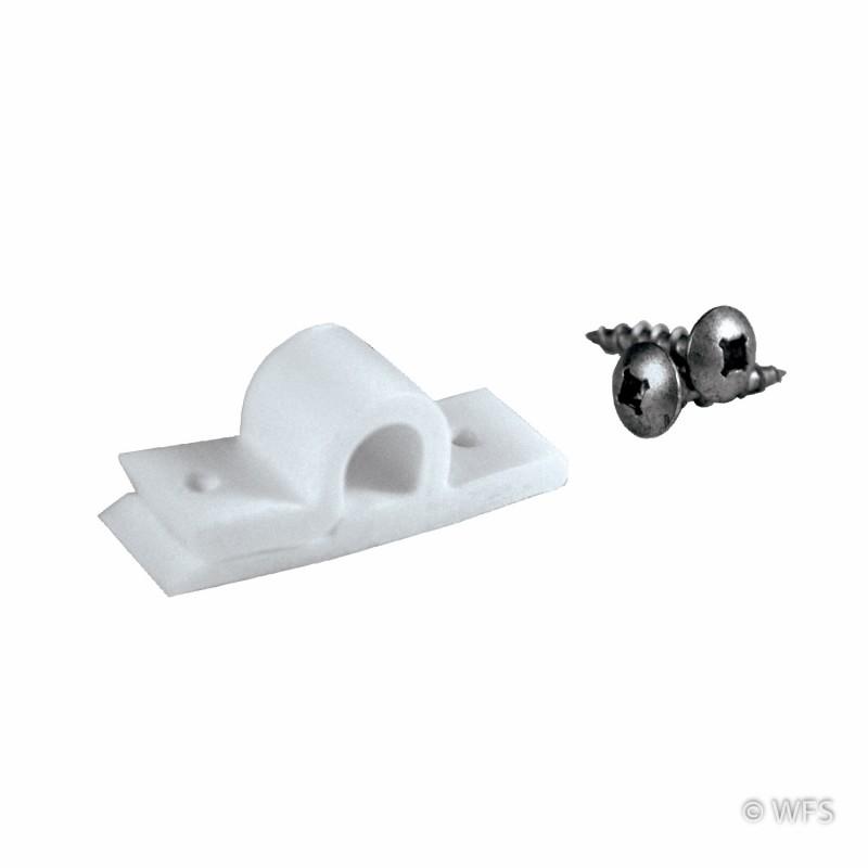 Insulator Clip, White