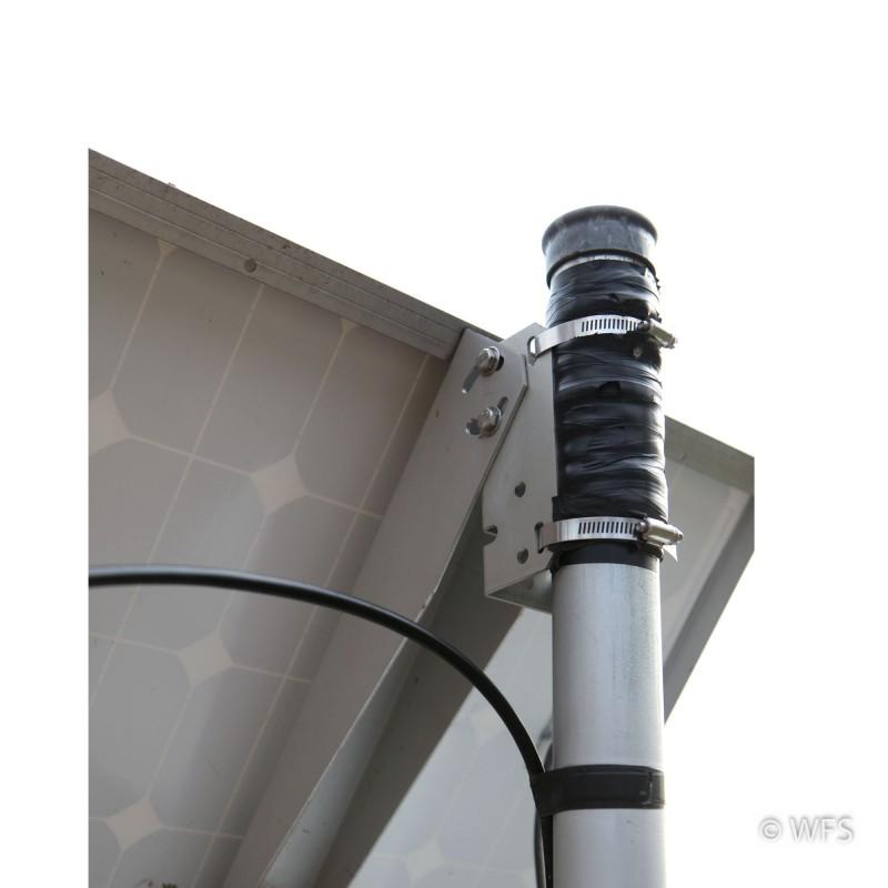 Side of Pole Mount for 10 - 40 watt panels