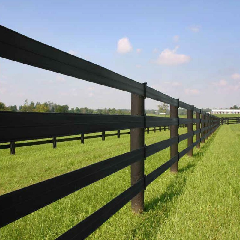 "330' Centaur® HTP® 5"" Rail, Black (Polymer Coated Wire)"