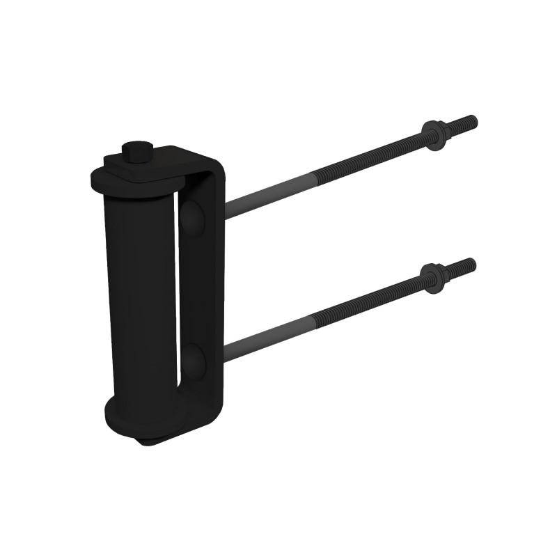 nside Corner Roller, Black (Polymer Coated Wire)