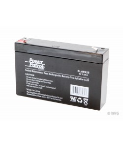 Sealed AGM Battery - 6 volt, 7 amp