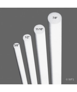 """Fiberglass Rod, 3/8"""" x 3'"""