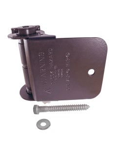 1-Way Barrel Tensioner, Brown (Polymer Coated Wire)