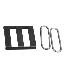 Splice Bracket, Black (Polymer Coated Wire)