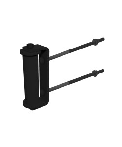 nside Corner Roller, Black (Polymer Coated Wire)
