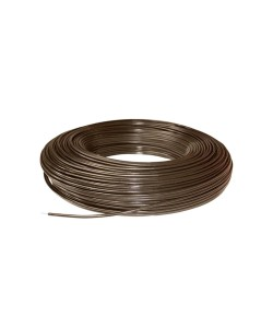 Insultube 100' roll, Brown (Polymer Coated Wire)