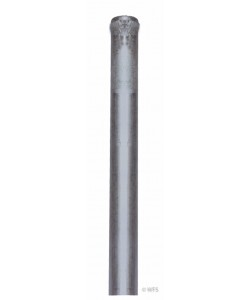 Galvanized Steel Ground Rod, 4' x 5/8""
