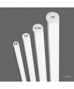 """Fiberglass Rod, ½"""" x 5'"""
