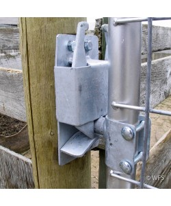 "HD Galvanized Two-Way Slam Latch for 1¾"" tube"