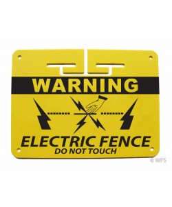 "Heavy Duty 1/8"" Plastic Warning Sign"