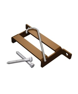 T-Bracket, Brown