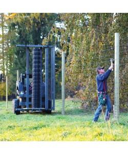 Hydraulic Self Loading Wire Unwinder and Stretcher